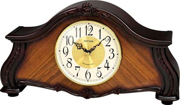 Rhythm Настольные часы Rhythm CRH241NR06. Коллекция Настольные часы rhythm настольные часы rhythm 4sg607wb13 коллекция настольные часы