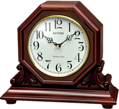 Rhythm Настольные часы Rhythm CRH247NR06. Коллекция Настольные часы rhythm настольные часы rhythm 4sg607wb13 коллекция настольные часы