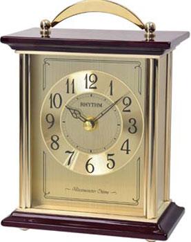 Фото - Rhythm Настольные часы Rhythm CRH253NR18. Коллекция Настольные часы часы настольные лепнина бабочка розы ажур 12 х 15 см 2757024