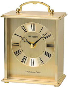Rhythm Настольные часы Rhythm CRH254NR18. Коллекция Настольные часы rhythm настольные часы rhythm 4sg607wb13 коллекция настольные часы