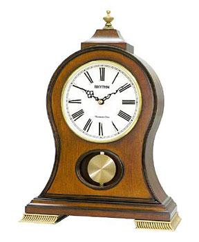 Rhythm Настольные часы Rhythm CRJ721NR06. Коллекция Century rhythm настольные часы rhythm 4se535wt18 коллекция century