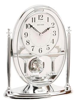 Rhythm Настольные часы  Rhythm CRP609WR19. Коллекция Century rhythm настольные часы rhythm crp609wr19 коллекция century