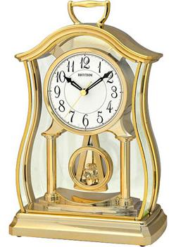 Rhythm Настольные часы Rhythm CRP611WR18. Коллекция Настольные часы юбка s'cool для девочки цвет черный