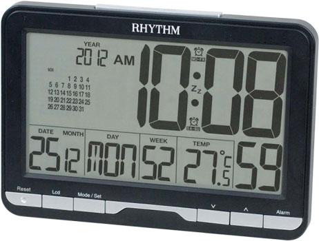 Rhythm Настольные часы Rhythm LCT072NR02. Коллекция часы настольные мотоцикл с термометром 295х220мм