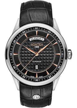 Roamer Часы Roamer 508.293.49.55.05. Коллекция Superior roamer часы roamer 508 837 41 15 05 коллекция superior