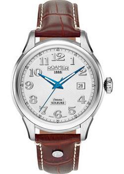 цена Roamer Часы Roamer 545.660.41.16.05. Коллекция Soleure Automatic онлайн в 2017 году