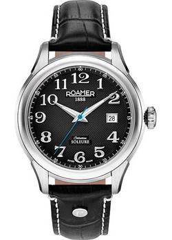 цена Roamer Часы Roamer 545.660.41.56.05. Коллекция Soleure Automatic онлайн в 2017 году
