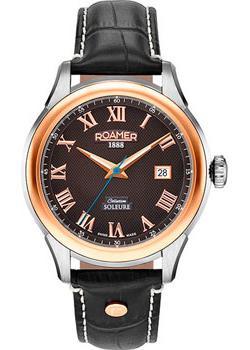 Roamer Часы Roamer 545.660.49.52.05. Коллекция Soleure Automatic roamer часы roamer 934 950 49 55 05 коллекция vanguard