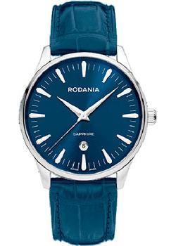Rodania Часы Rodania 25141.29. Коллекция Gents Quartz new arrival handmade blue cowhide leather watchband strap 16mm 18mm 20mm 22mm watch accessories rosegold buckle metal clasp