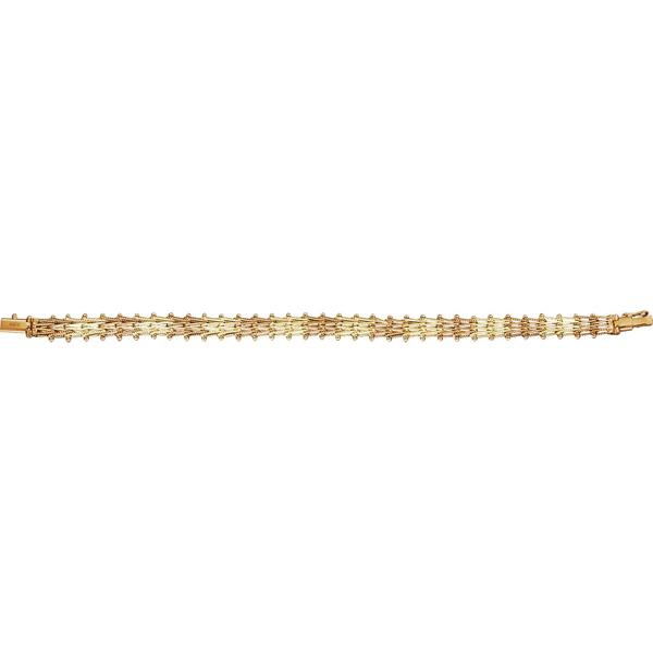 Золотой браслет Ювелирное изделие 01221RS