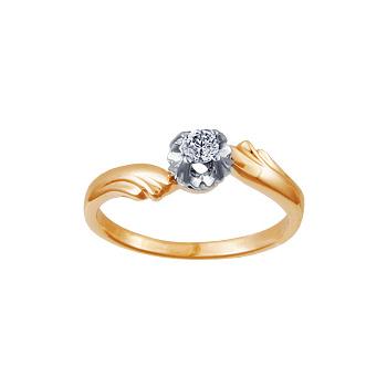 Золотое кольцо Ювелирное изделие 02023RS