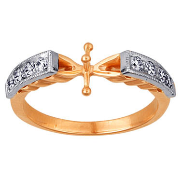 Золотое кольцо Ювелирное изделие 02437RS