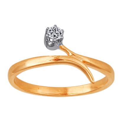Золотое кольцо Ювелирное изделие 02470RS