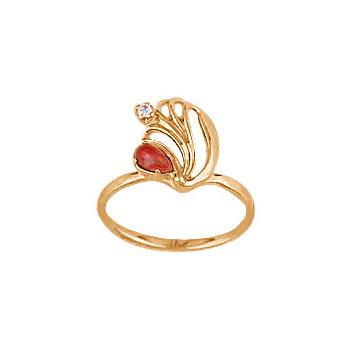 Золотое кольцо Ювелирное изделие 02536RS цена
