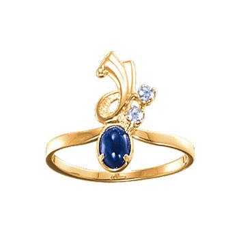 Золотое кольцо Ювелирное изделие 02585RS