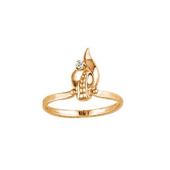 Золотое кольцо Ювелирное изделие 02675RS