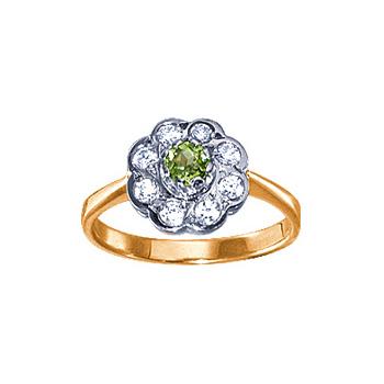 Золотое кольцо Ювелирное изделие 02705RS
