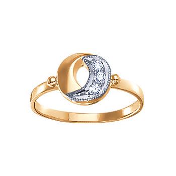 Золотое кольцо Ювелирное изделие 02848RS