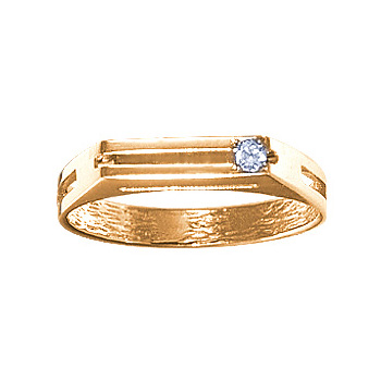 Золотое кольцо Ювелирное изделие 02957RS