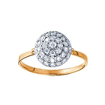 Золотое кольцо Ювелирное изделие 08266RS