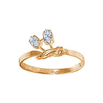 Золотое кольцо Ювелирное изделие 08455RS