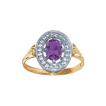 Золотое кольцо Ювелирное изделие 08566RS