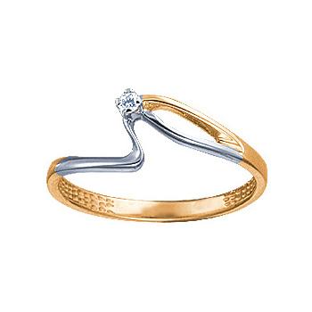 Золотое кольцо Ювелирное изделие 08842RS