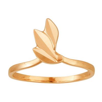 Золотое кольцо Ювелирное изделие 09980RS uniel fiore 09980