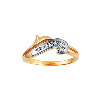 Золотое кольцо Ювелирное изделие 10075RS золотое кольцо ювелирное изделие a1006808074