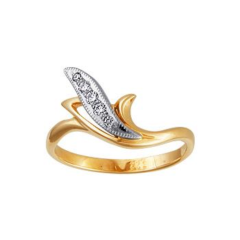 Золотое кольцо Ювелирное изделие 10133RS