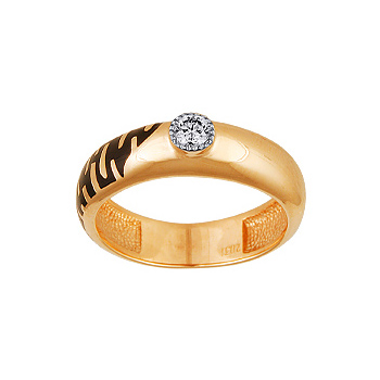 Золотое кольцо Ювелирное изделие 10313RS