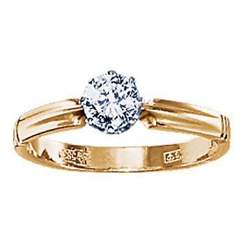 Золотое кольцо Ювелирное изделие 10650RS
