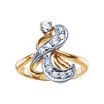 Золотое кольцо Ювелирное изделие 10879RS золотое кольцо ювелирное изделие 10879rs