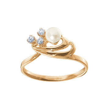 Золотое кольцо Ювелирное изделие 12318RS