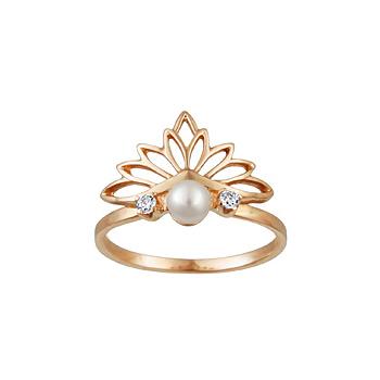 Золотое кольцо Ювелирное изделие 12320RS