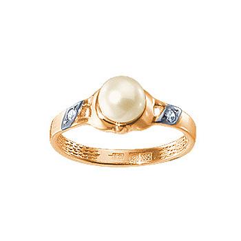 Золотое кольцо Ювелирное изделие 12408RS