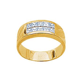Золотое кольцо Ювелирное изделие 14214RS кольцо алмаз холдинг женское золотое кольцо с бриллиантами и рубином alm13237661 19