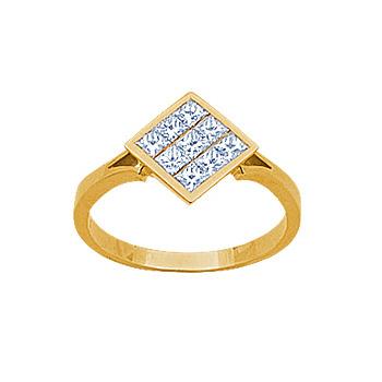 Золотое кольцо Ювелирное изделие 14220RS