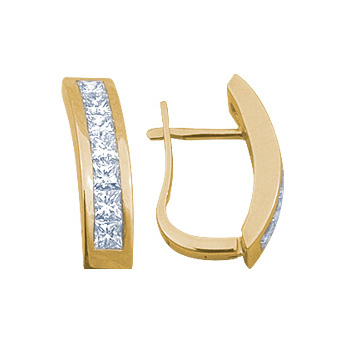 Золотые серьги Ювелирное изделие 14233RS