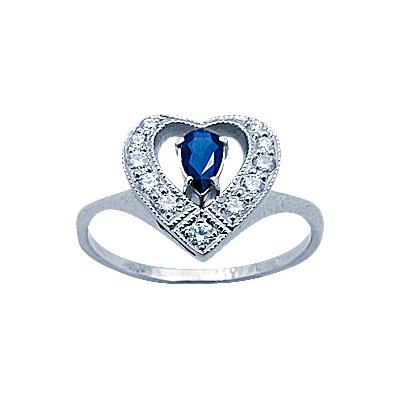 Золотое кольцо Ювелирное изделие 14514RS кольцо кюп женское золотое кольцо с бриллиантами и сапфиром alm1850202213 19