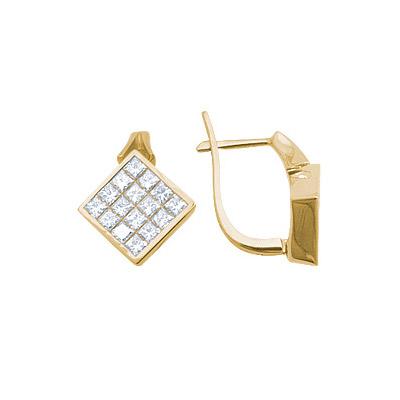 Золотые серьги Ювелирное изделие 14525RS