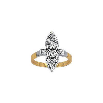 Золотое кольцо Ювелирное изделие 14541RS
