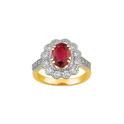 Золотое кольцо Ювелирное изделие 14556RS
