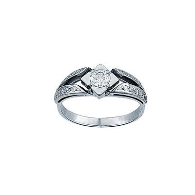 Золотое кольцо Ювелирное изделие 14972RS