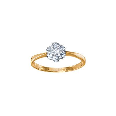 Золотое кольцо Ювелирное изделие 15279RS минибар д ликера кольцо 7 пр стекло