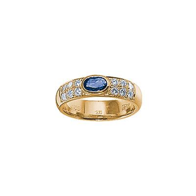 Золотое кольцо Ювелирное изделие 15550RS кольцо алмаз холдинг женское золотое кольцо с бриллиантами и рубином alm13237661 19