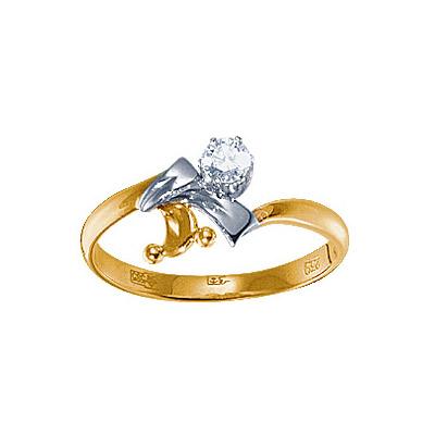 Золотое кольцо Ювелирное изделие 15568RS