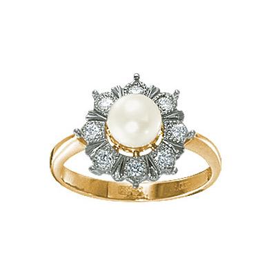 Золотое кольцо Ювелирное изделие 15608RS