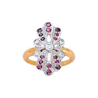 Золотое кольцо Ювелирное изделие 17034RS