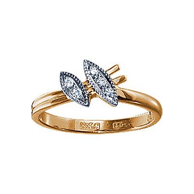 Золотое кольцо Ювелирное изделие 17174RS цена